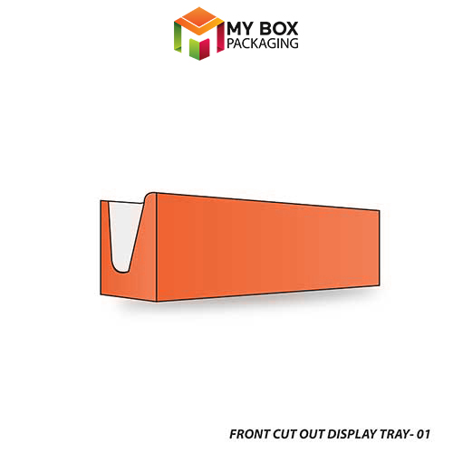 Front Cut Out Display Tray