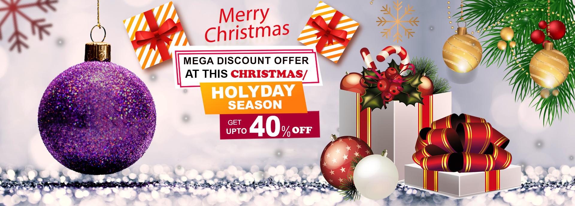 Mega discount Christmas sale my box packaging