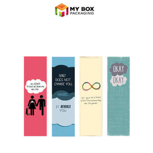 order bookmarks in custom design and printing at wholesale